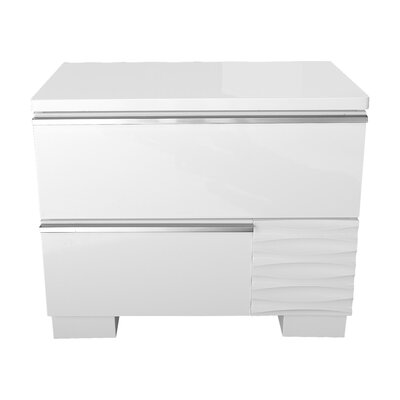 Elizabethtown 2 Drawer Nightstand