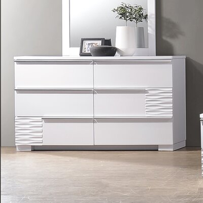 Ellisburg 6 Drawer Dresser