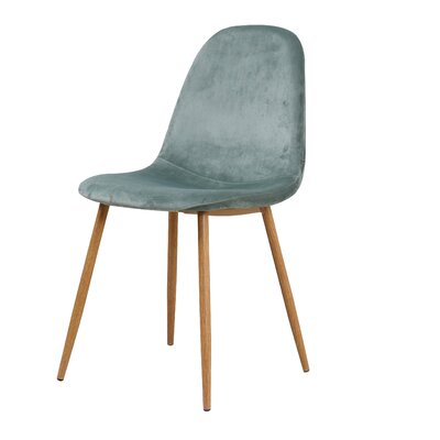 Velvet Side Chair Upholstery Color: Velvet/ Cactus