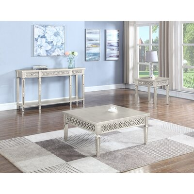 Blaxcell Square 2 Piece Coffee Table Set