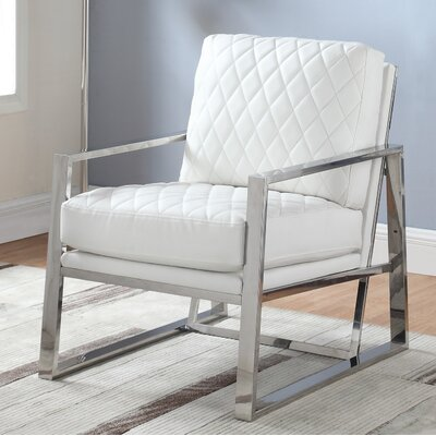 Mccollom Armchair Upholstery: Off White
