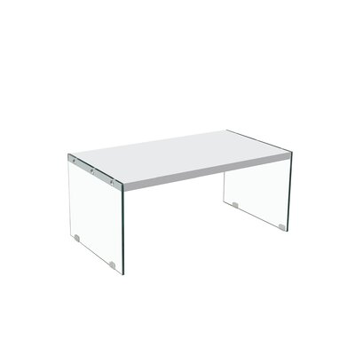 Aganlane Coffee Table Table Top Color: White