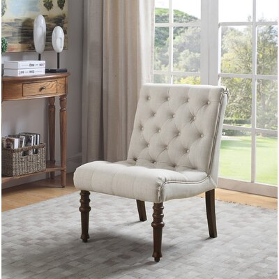 Volker Accent Slipper Chair Upholstery: Beige