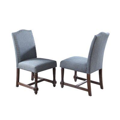 Side Chair Upholstery: Eton Blue