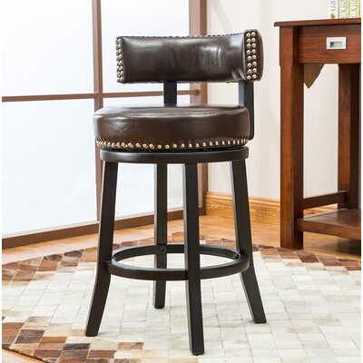 Backer 24 Bar Stool Finish: Brown
