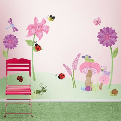 Bugs and Blossoms Wall Decal Kit stk1015