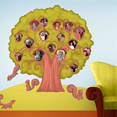 Acorn Family Tree Wall Decal stk1081