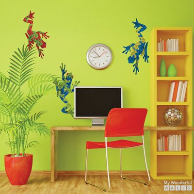 Giant Tree Frog Wall Decal 146-stick-17