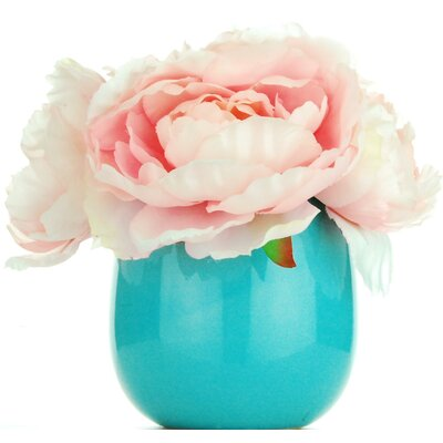 Large Peonies Floral Arrangement Flower Color: Pink