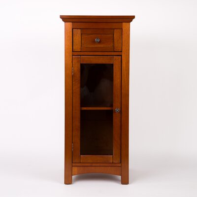 Wooden Floor 1 Drawer Storage Cabinet