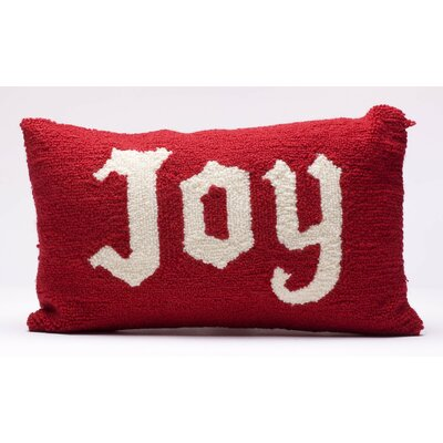 Hooked Joy Christmas Lumbar Pillow