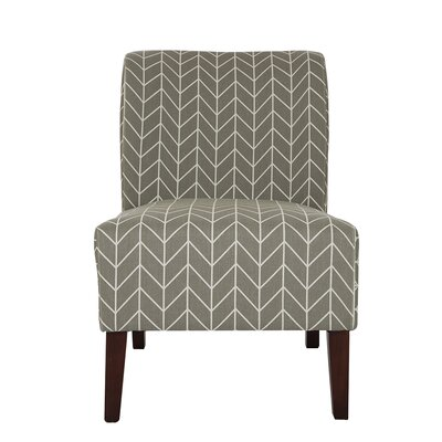 Herringbone Slipper Chair