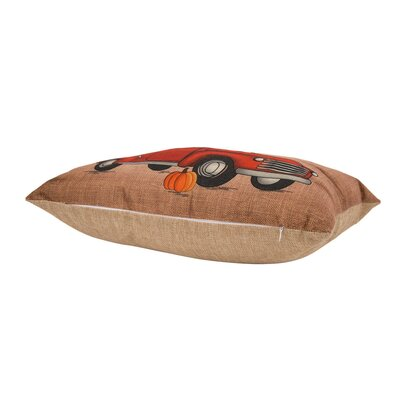 Montvale Happy Harvest Truck Lumbar Pillow