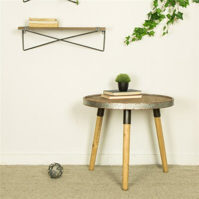 Pieper Round End Table