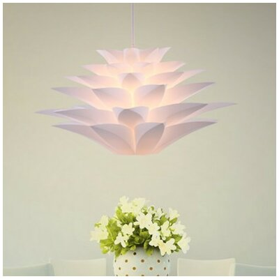 Noble Spark 1-Light Bowl Pendant
