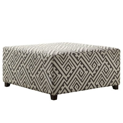 Fabric Cocktail Ottoman