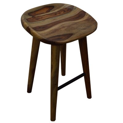 27.5 Bar Stool Upholstery: Natural