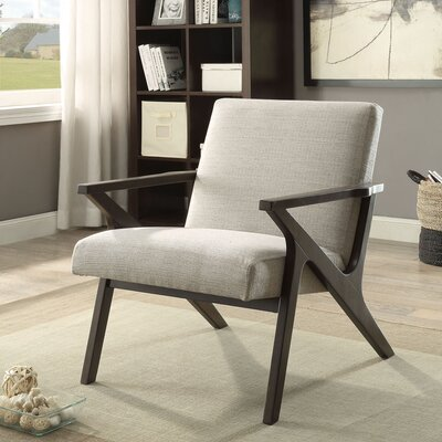 Conkling Armchair Upholstery: Beige