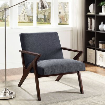 Conkling Armchair Upholstery: Gray