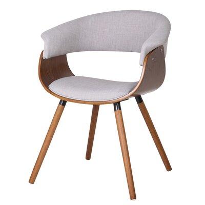 Bent Wood Accent Barrel Chair