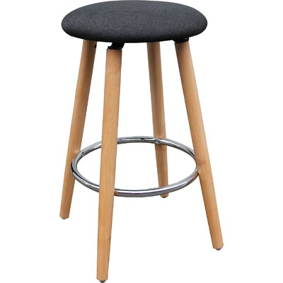 26 Bar Stool Upholstery: Charcoal