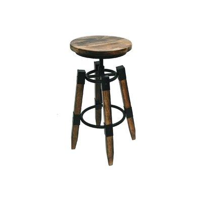 Adjustable Height Bar Stool