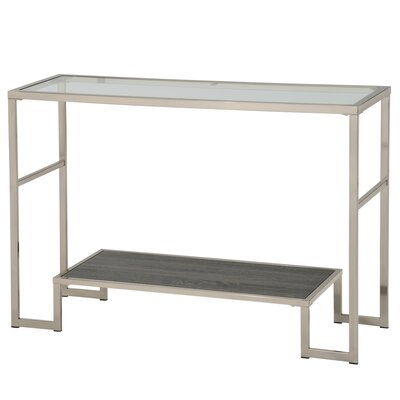 Console Table Color: Gray Reclaimed