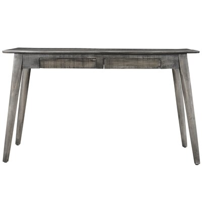 Console Table Finish: Gray