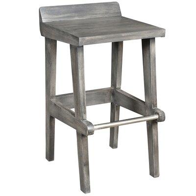 26 inch Bar Stool Color: Gray