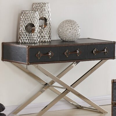 Console Table Color: Gray