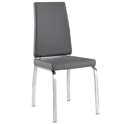 Side Chair Upholstery: Grey