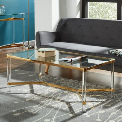 Coffee Table Finish: Gold