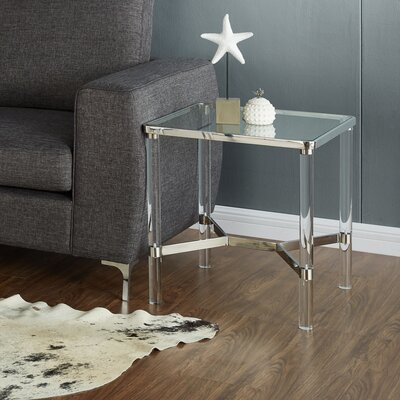 End Table Finish: Chrome
