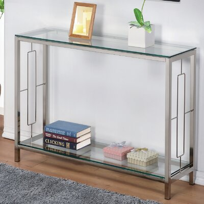 Furniture-!nspire 2 Tier Console Table