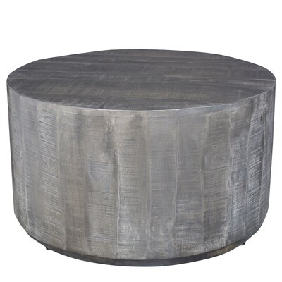 Compton Coffee Table Color: Distressed Gray
