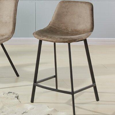 Shanita 26 Bar Stool Upholstery: Vintage Brown