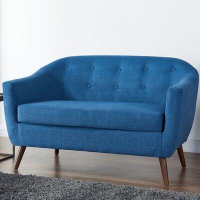 Burdekin Settee Upholstery: Blue