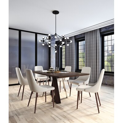 Bruck Contemporary 7 Piece Dining Set