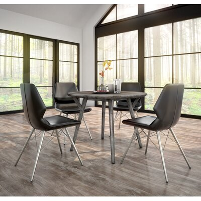 Anastasia Contemporary 5 Piece Dining Set