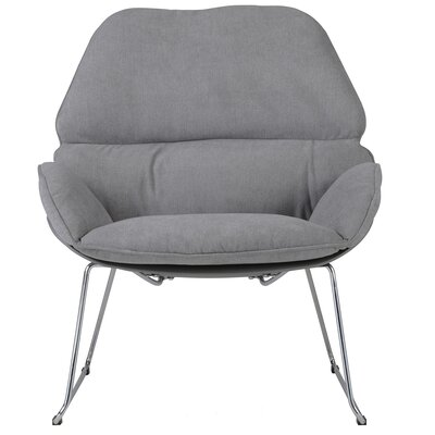 Chappell Upholstered Side Chair Upholstery: Dark Gray