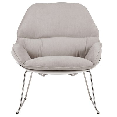 Chappell Upholstered Side Chair Upholstery: Light Gray