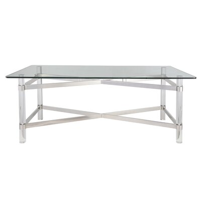 Rhem Coffee Table Table Base Color: Chrome