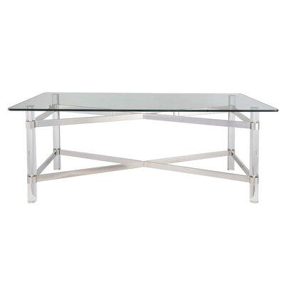 Rhem Coffee Table Table Base Color: Chrome