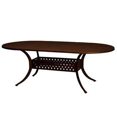 La Jolla 7 Piece Dining Set Table Size: 29 H x 42 W x 84 L