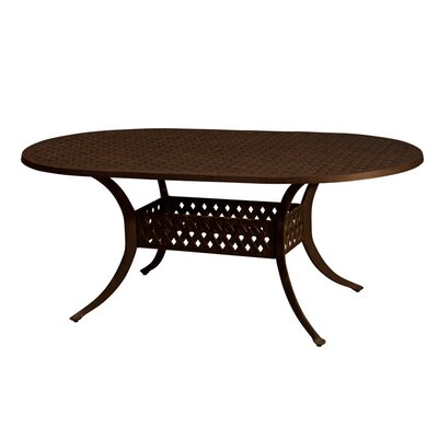 La Jolla Dining Table Table Size: 84 L x 42 W