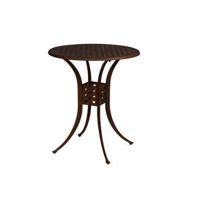 Baldwin 3 Piece Bistro Set Table Size: 36