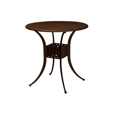 Baldwin 3 Piece Bar Height Dining Set with Cushions Table Size: 42