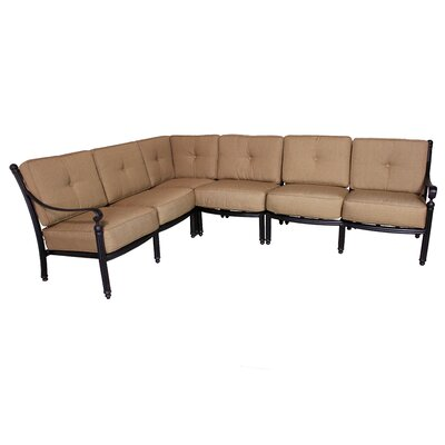 Baldwin Deep Seating Sectional Piece with Cushions