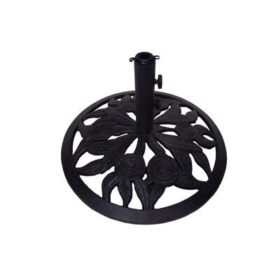 Rosey Cast Iron Free Standing Umbrella Base