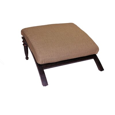 Corona Ottoman with Cushion